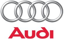"""Audi - designs, engineers, manufactures & distributes automobiles & motorcycles. Audi oversees worldwide operations from its headquarters in Ingolstadt, Bavaria, Germany. Vehicles are produced in 7 production facilities worldwide. The name is based on the founder, August Horch. """"Horch"""", meaning """"listen"""", becomes """"Audi"""" when translated into Latin. The 4 rings of the Audi logo each represent one of four car co's that banded together to create the company."""