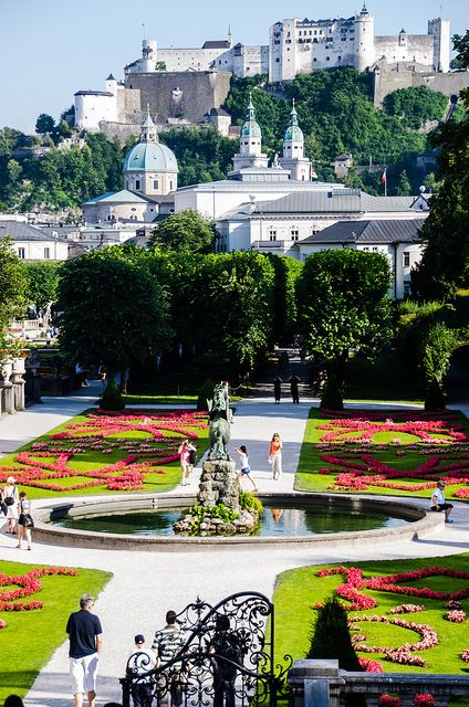 Salzburg,Austria...this is it...the place where SOUND OF MUSIC took place..my bucket list!!