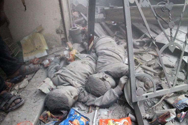 أطفال سورية والدرس القاتل ..  CHILDREN OF SYRIA, The deadly lessen! Please help #FB A Syrian school has been hit in a government airstrike in the opposition-held district of Aleppo, killing at least 19 people, including 10 children, activists have reported.