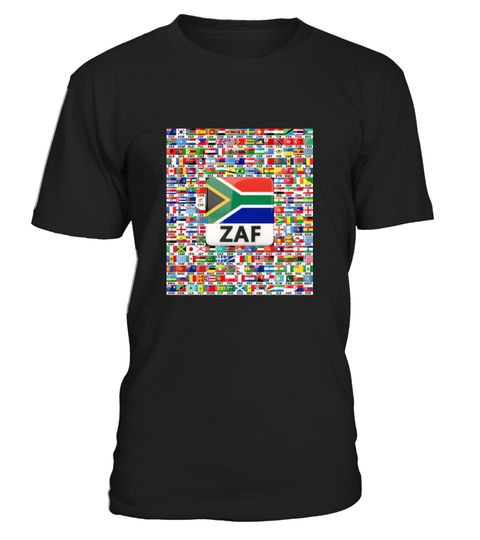 # South Africa Flag with all flag in the .  South Africa shirt - Awesome gifts for South African