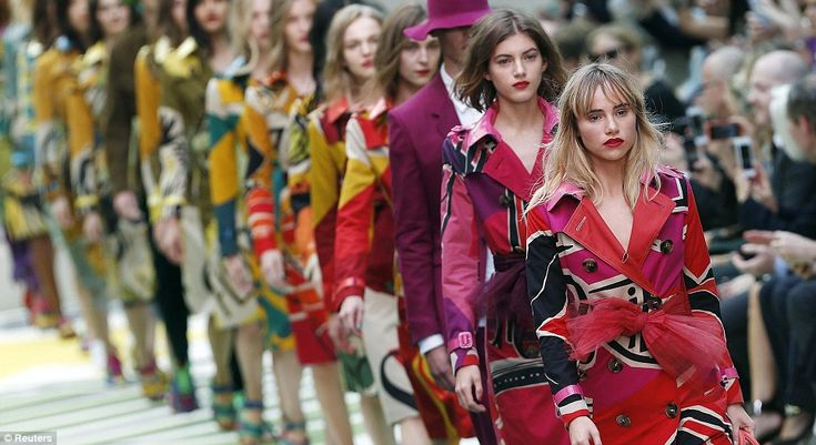 Family: Suki Waterhouse has longed worked with the British fashion house and closed the sh...