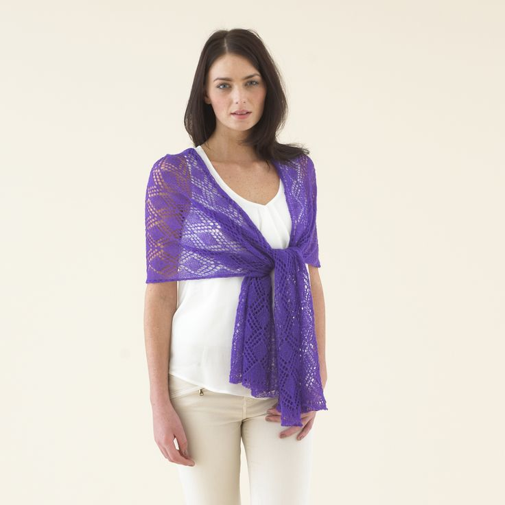 The Herione Wrap - Sublime Extra Fine Merino Lace