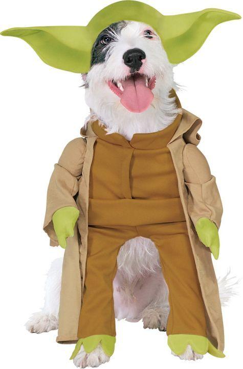 Yoda Dog Costume - Yoda Pet Costume - Party City