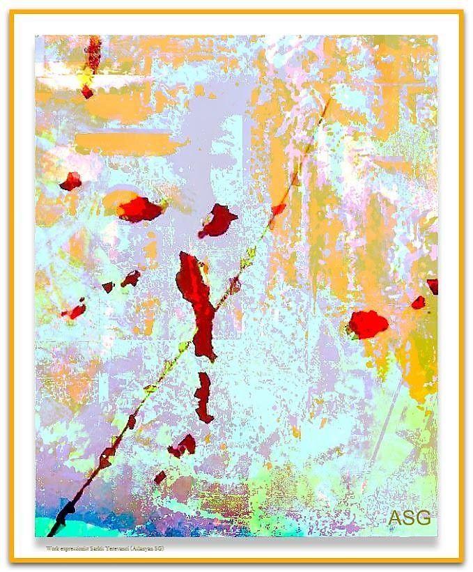 """""""Красотка на миллион"""" - Изобразительное искусство - Масло, акрил"""