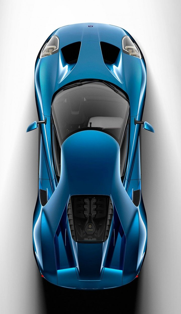 The new Ford GT - top view                                                                                                                                                                                 More
