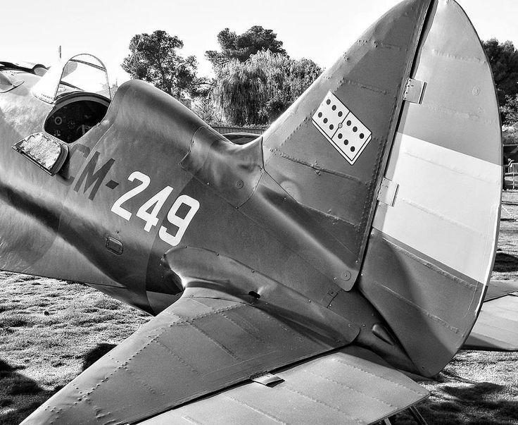Polikarpov I-16 #airplane #república #civilwar #classic
