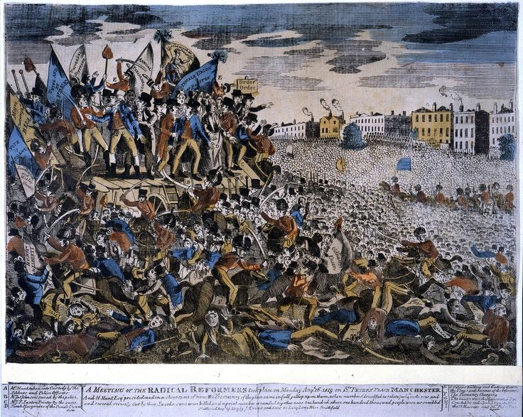 The Peterloo Massacre - The British Library
