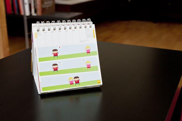Hey (Calendar Illustration)
