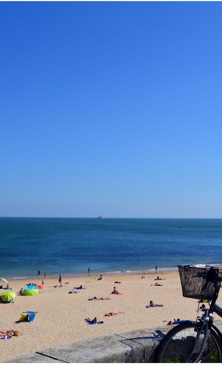 Paço D'Arcos Beach. Oeiras - Lisbon Bike Tour.