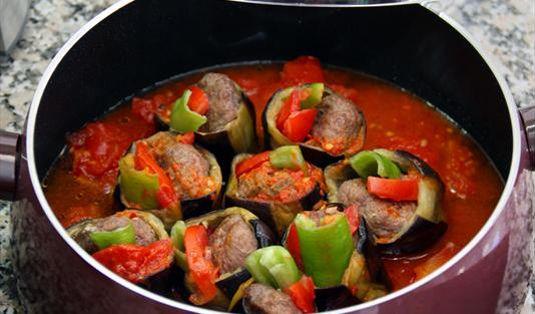 Patlıcan Yuva Kebabı Tarifi / Marifetlitarifler'den yemek tarifleri
