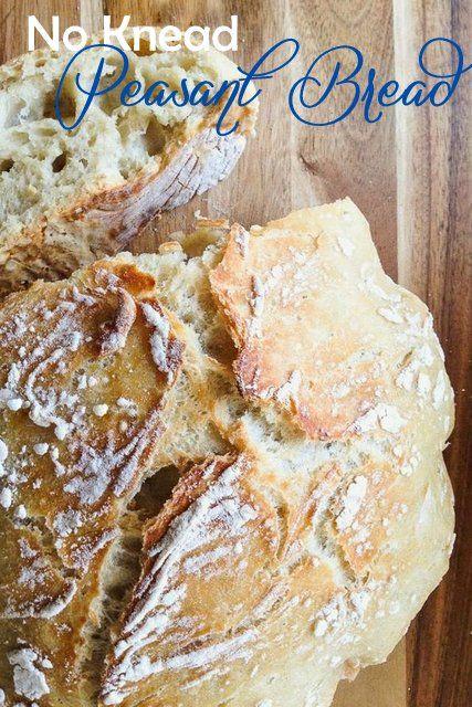 Harris Sisters GirlTalk: No Knead Peasant Bread