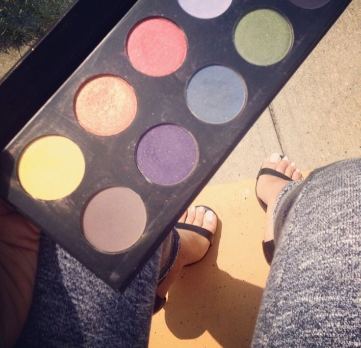 Awesome pallets eyeshadows inlove