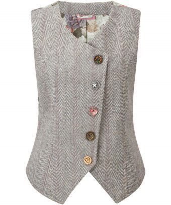 Heritage Waistcoat, Women, Coats and Jackets