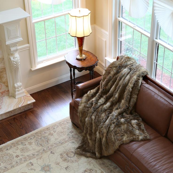 78 Best Images About Faux Fur Decor Products On Pinterest