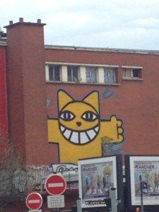 Challenge Photo: Jaune & street Art 1/2