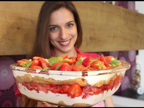 fruchtiges und einfaches Erdbeer-Tiramisu-Rezept - YouTube