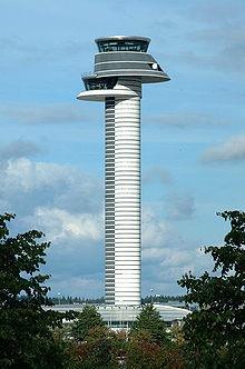 Stockholm Arlanda International Airport Control Tower
