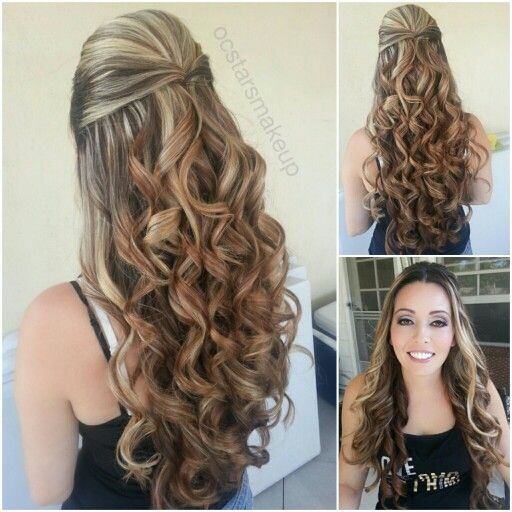 Brown Formal Hair