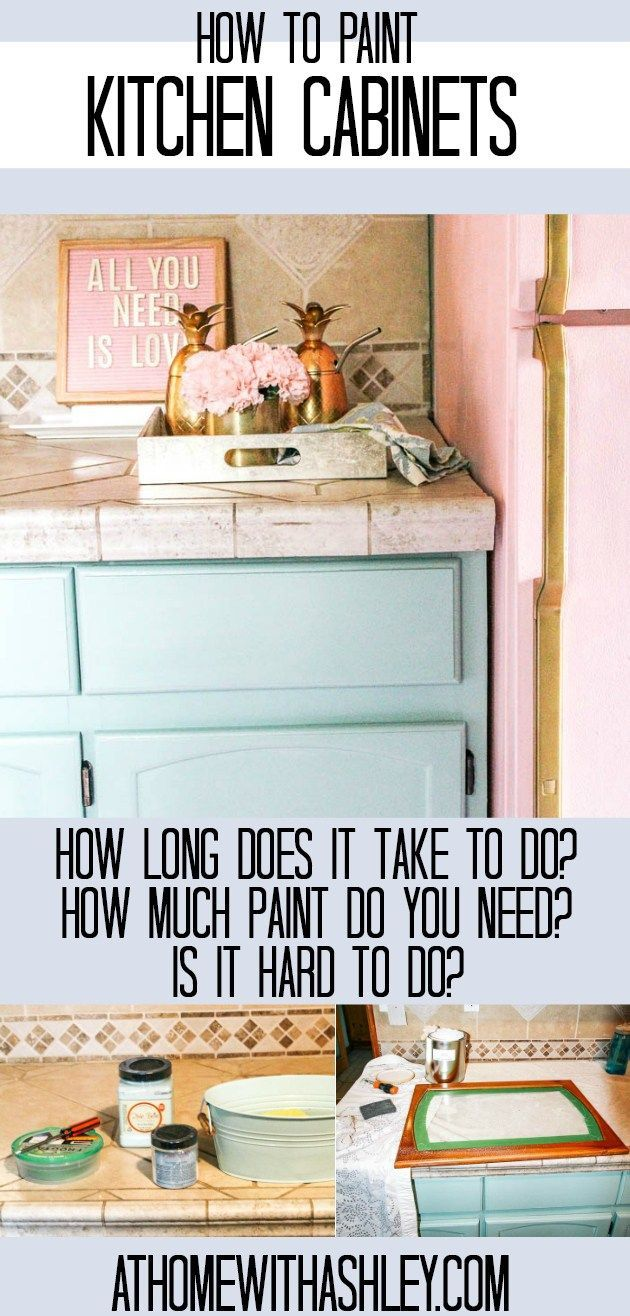 How To Paint Your Kitchen Cabinets Kitchen Cabinets Painted Before And After Painting Kitchen Cabinets Custom Bathroom Cabinets