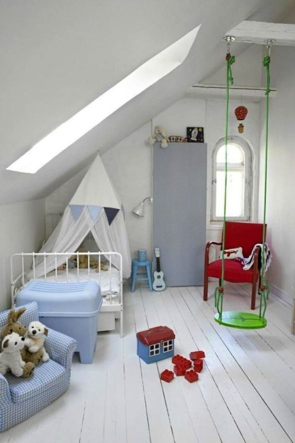 Indoor Swings (Or How to Be the Coolest Parent in the World) - Little Green Notebook