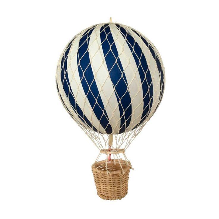 Filibabba luftballong barnrum, 20 cm, Blå