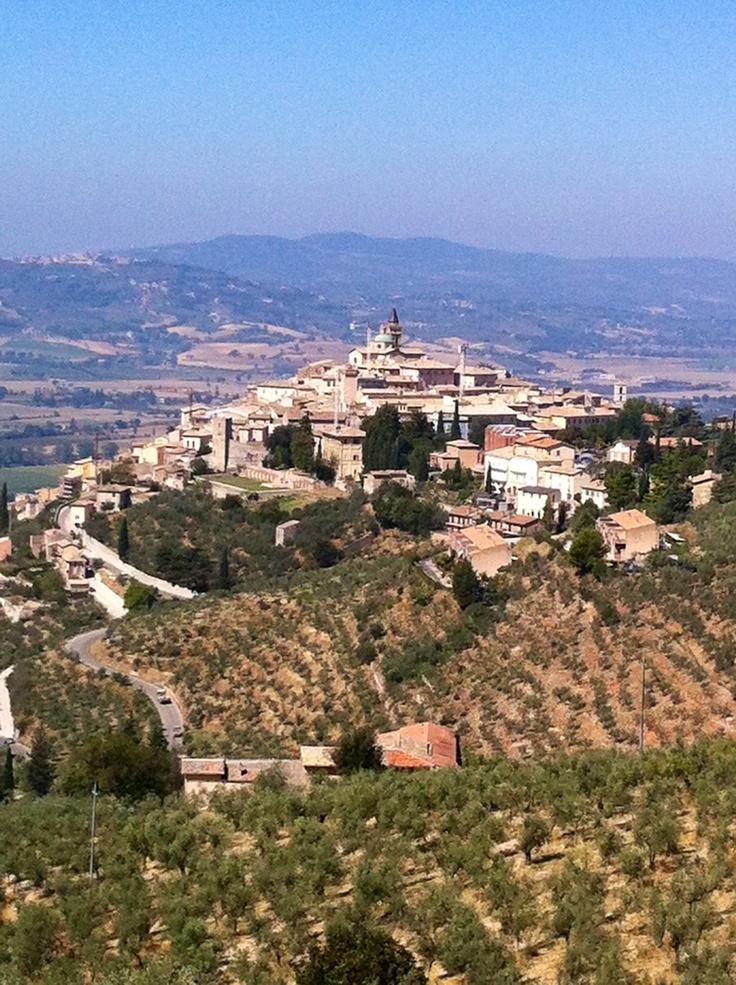 Trevi, Umbria today
