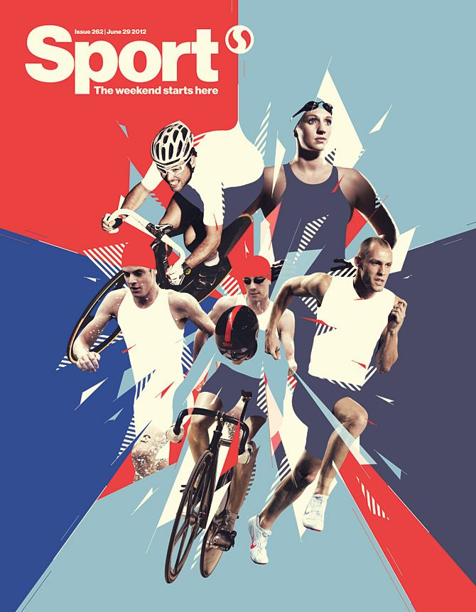 Sport Magazine* | Destill – Portfolio of freelance designer and illustrator Mike Harrison