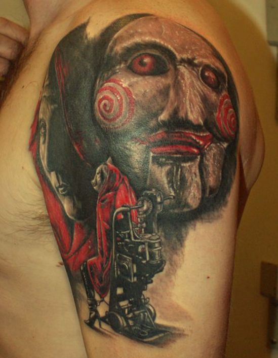 142 best images about saw tattoos on pinterest jigsaw for Best tattoo ink to use