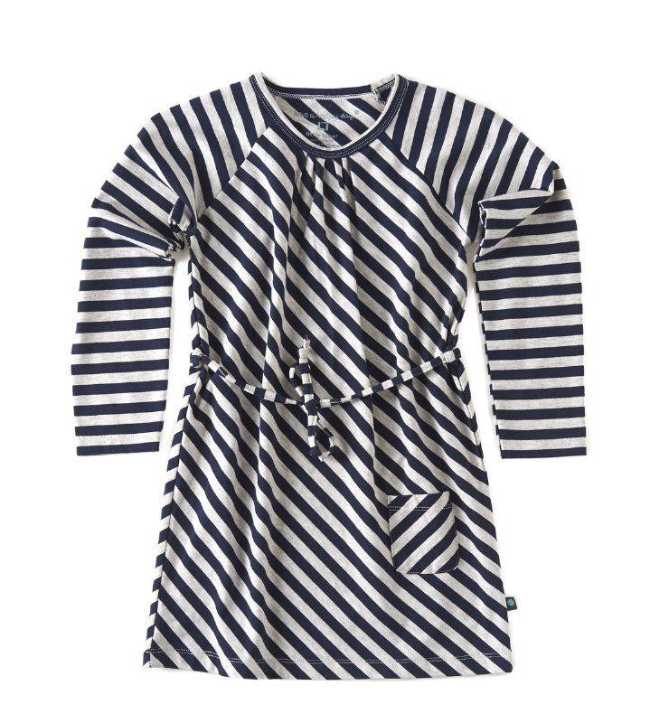 Little Label Jersey dress gestreept