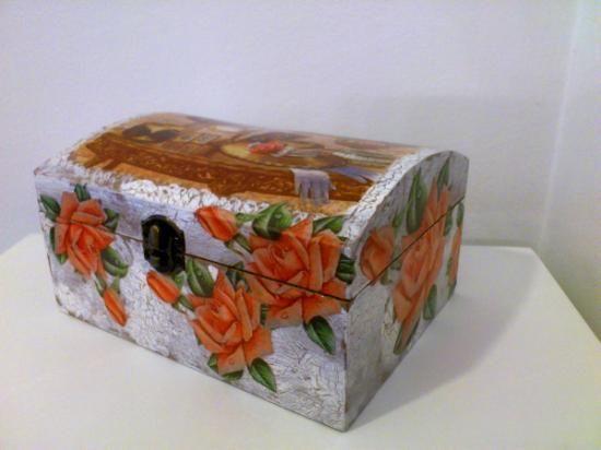 17 best images about gu rdame un secreto cajas y - Manualidades con cajas de madera ...