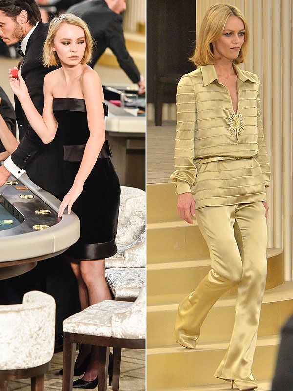 Lily-Rose Depp Looks Exactly Like Mom Vanessa Paradis at Chanel Show (Plus: Which A-Lister's Son Walked Too?) http://stylenews.peoplestylewatch.com/2015/07/07/lily-rose-depp-vanessa-paradis-chanel-show/