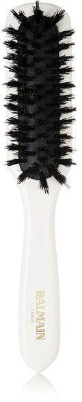 Balmain Paris Hair Couture - Boar Hair Brush - White