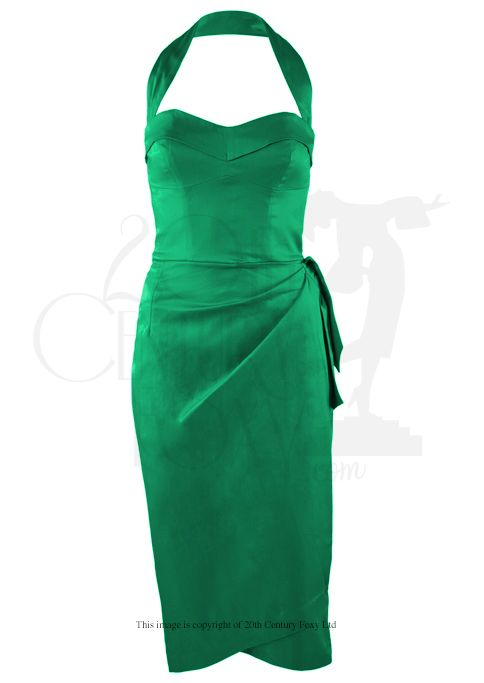 Emerald Fever Sarong Dress