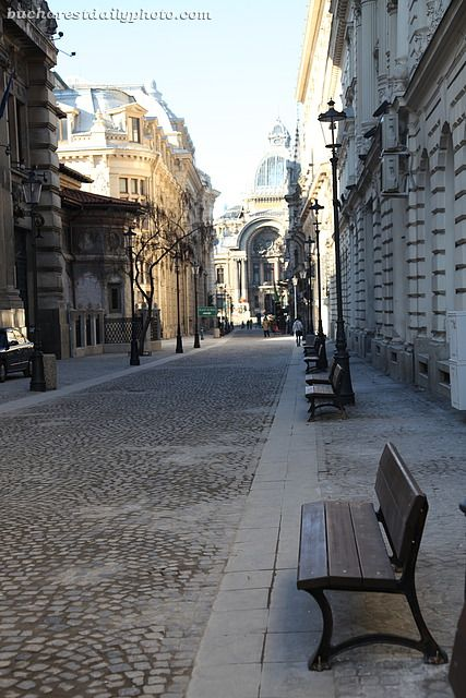 Old Town, Bucharest...Newly paved.