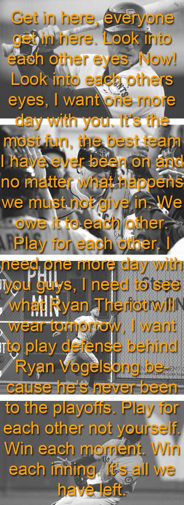 Inspiration - HUNTER PENCE'S motivation speech...amazing...