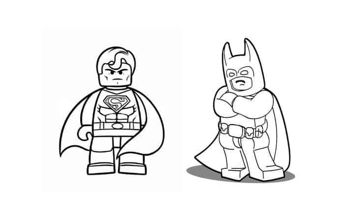 Superman Lego Coloring Pages Lego Coloring Pages Superman Coloring Pages Batman Vs