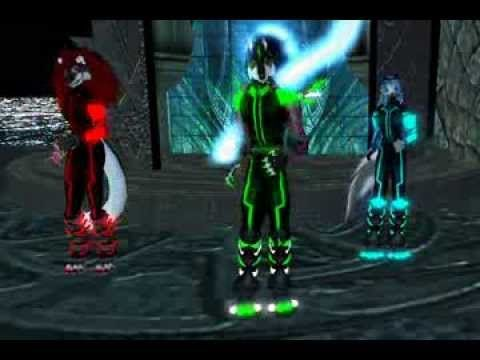 Dj Satomi - Waves (Furry RGB Raver Dance)