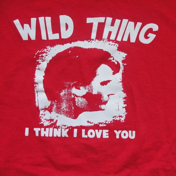 Wild Thing Major League Movie Sheen T-Shirt Large L Red Donkey Tees Rick Vaughn #DonkeyTees #GraphicTee