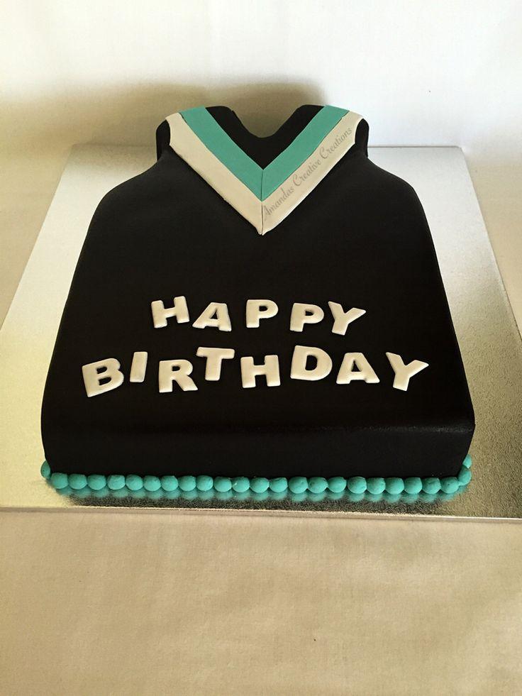 Port Power gurnsey cake