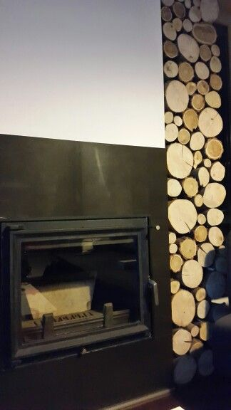 Woody fireplace