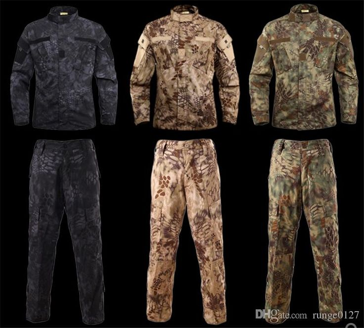 (64.52$)  Buy here - http://aiy1b.worlditems.win/all/product.php?id=32802101581 - Jungle Camouflage Hunting Sets Mens Jacket Pant Python Pattern Jungle Camouflage Tactical Suit Men Outdoor Sport Hunting Clothin