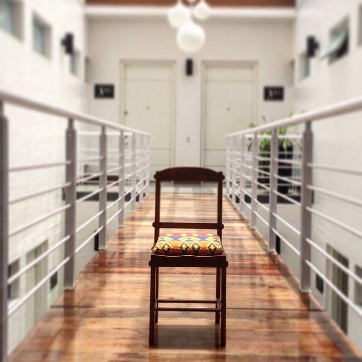 The WAYA Chair. Beauty!  www.wayaarte.com  # waya #handmadelovers #onepiece #buytogive #bohobag #hobobag #boho #bohostyle #hobo