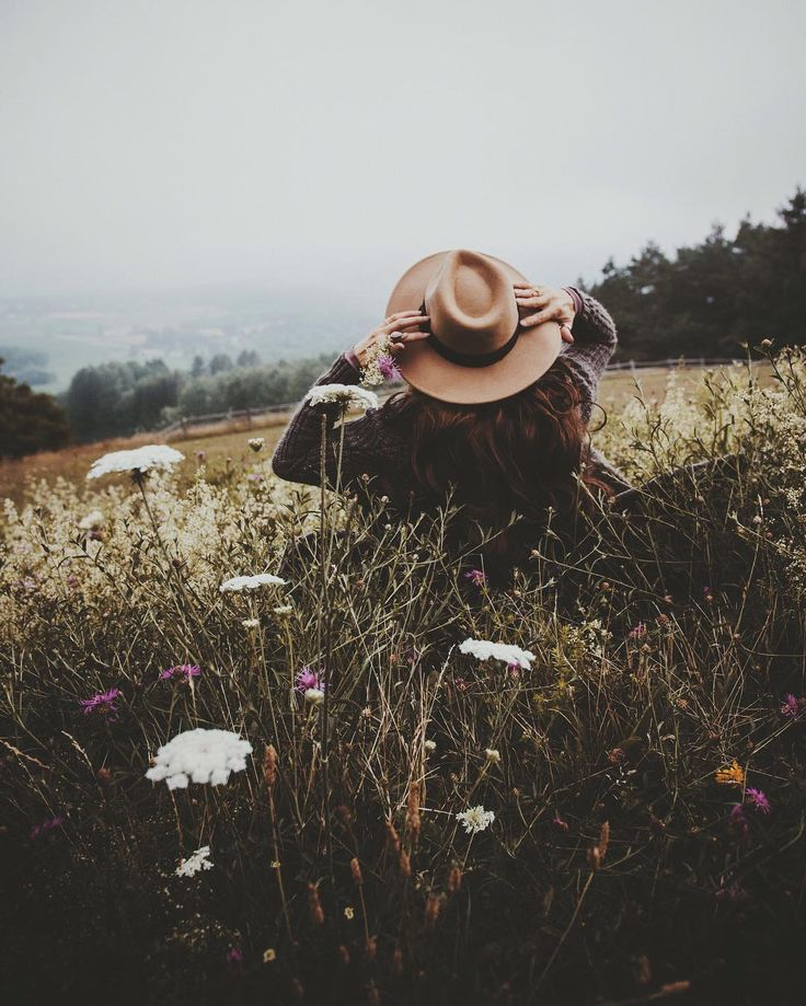 hippy hats | field of flowers | wild | explore | adventure | capture | run wild