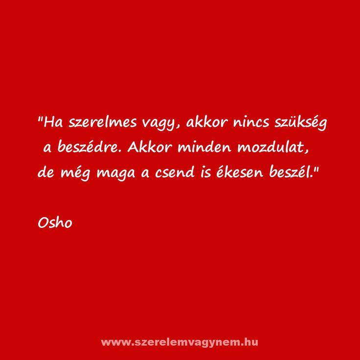 Osho szerelmes idézet