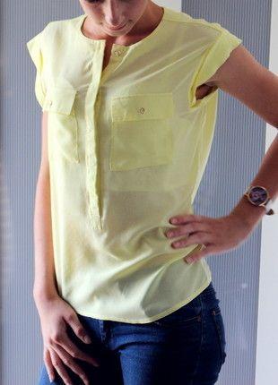 Kup mój przedmiot na #Vinted http://www.vinted.pl/kobiety/koszule/9791917-zolta-koszula-mgielka-top-secret