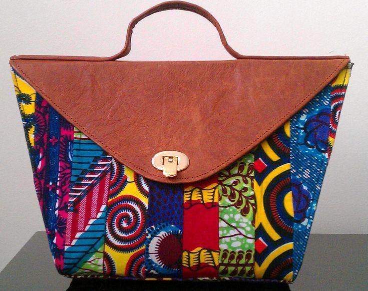 African Print Hand Bag By Aftradpaintings On Etsy 163 35 00