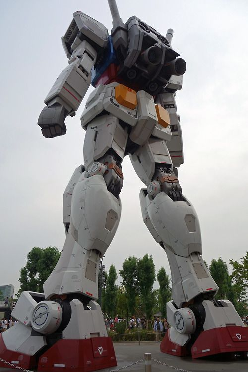 [Town] Mobile Suit Gundam in Odaiba お台場のガンダム