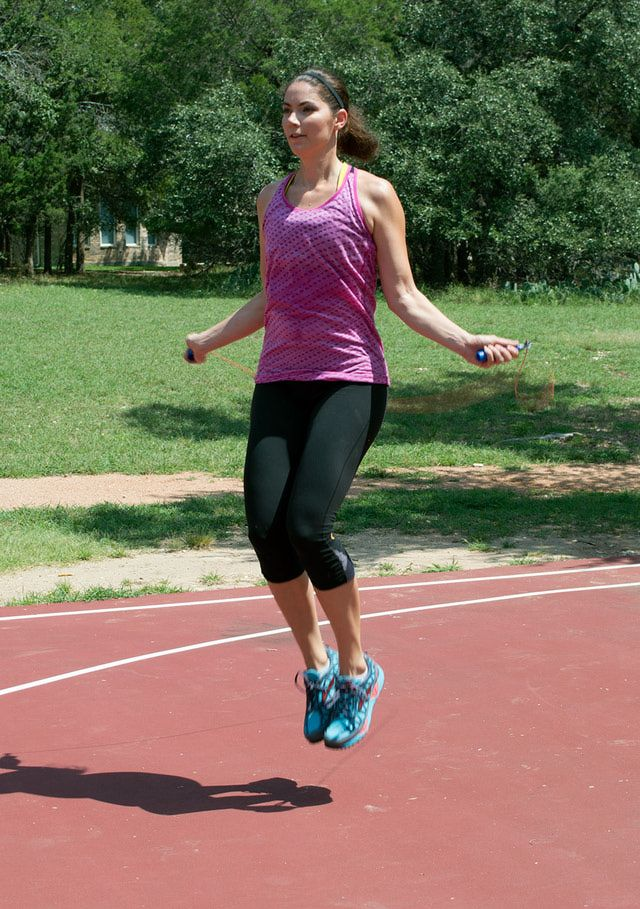 Blast 100 calories fast with this jump rope routine