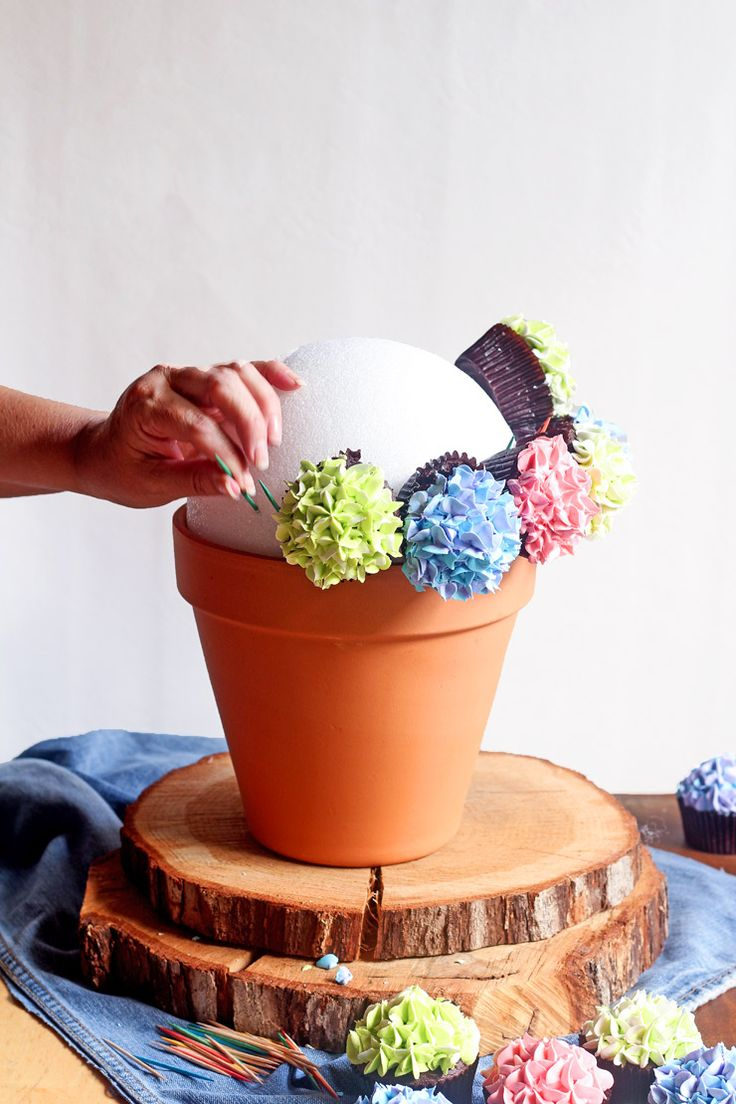 How To Make A Cupcake Bouquet With Video