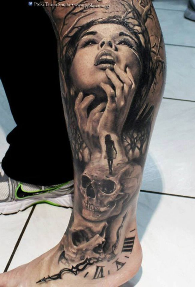 Vampire Tattoos, Designs And Ideas : Page 12